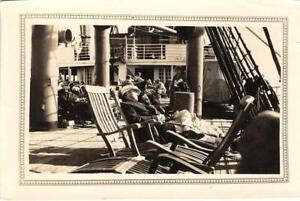 Cruise-Ship-Passengers-Steamship-Photo-ca-1920s-Vintage-Photograph