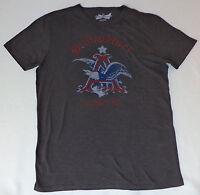 Budweiser Short Sleeve Gray T-shirt Small L674
