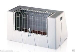 Boîte De Transport Gitterbox Pour Chien Doppelbox Plastique Cage 1 Automatique