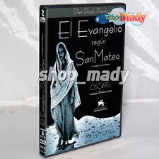 El Evangelio según San Mateo / Il Vangelio Secondo Mateo DVD Region 1 y 4
