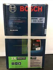 Sealed Bosch Gll40 20g Green Beam Self Leveling Cross Line Laser 40 Level