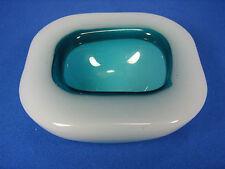 SMALL alabastro cased Murano Glass Bowl # bella vetro guscio ITALY 454 grammi