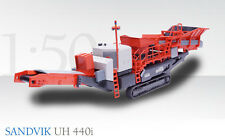 Conrad - Sandvik UH440i mobile crusher. Perfect Lowboy Load. Discontinued