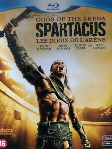 BLU-RAY-Spartacus-Les-Dieux-de-l-039-arene-L-039-integrale-de-la-saison