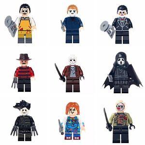 Horrorfilm-Figuren-Freddy-Jason-Saw-Chucky-Scream-Action-Film-Spiel-Figur-Neu-tv