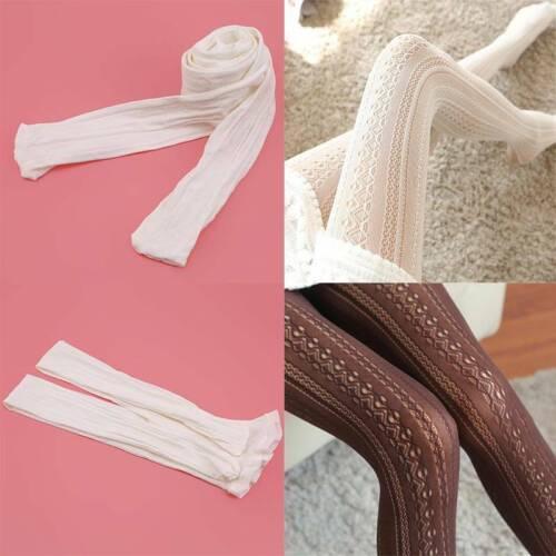 Female Fashion Filles dentelle gothique lolita dentelle collant bas collants chaussettes S