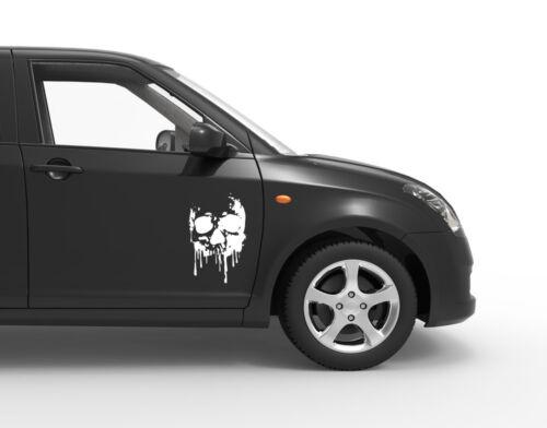 Des autocollants Skull Blood tete de mort VOITURE Film CAR Tatouage Têtes de mort 20x30 cm bsm076