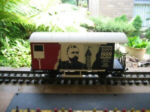 LGB-4028-FR-G-Scale-Limited-Ed-Bicentenery-of-French-Revolution-Box-Car-Used