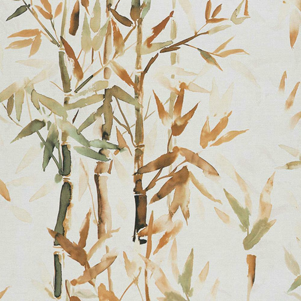 219460 - SUMI-e Bamboo orange Galerie Wallpaper