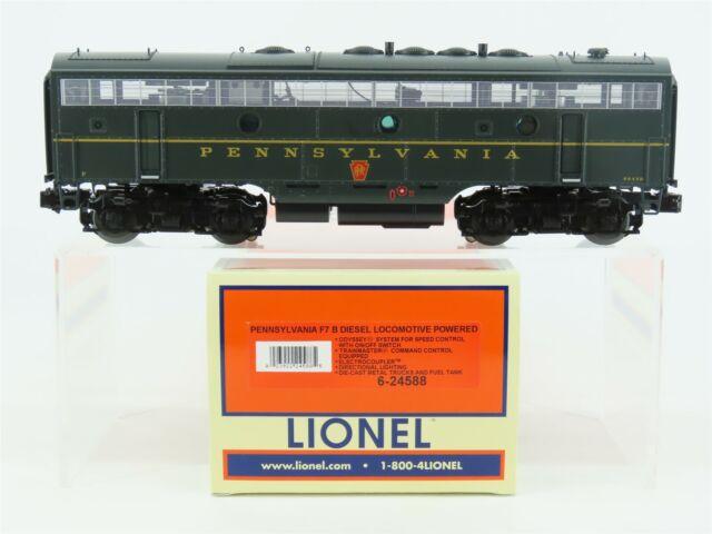 O Gauge 3-Rail Lionel 6-24588 PRR Pennsylvania F7B Diesel #9643B w/ TMCC