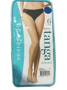 Color May Vary it-se-bit-se  Lowcut  Ladies Panties  6pak  L size USA shipping