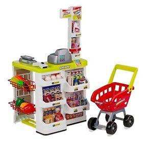 Supermarkt Strichcodeleser für kinder, Waage, Geld und Einkaufswagen