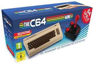 The-C64-Mini-THEC64-Mini-Konsole-inkl-64-C64-Spiele-NEU