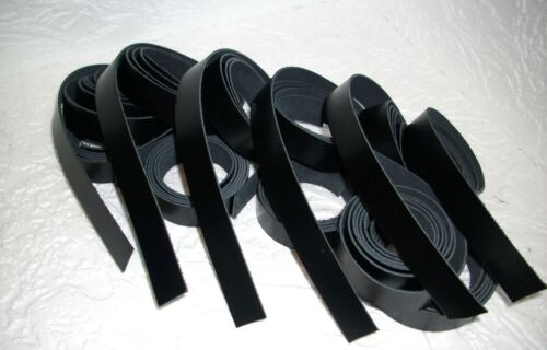 * 1,23 largo 2 cm de ancho 10 correas cuero negro *