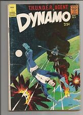 DYNAMO  #3 VG+ VERY GOOD+ WHITE PAGES SILVER AGE TOWER COMIC 1967