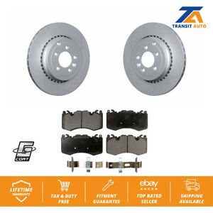 Front-Coated-Disc-Brake-Rotors-And-Ceramic-Pads-Kit-Land-Rover-Range-Sport