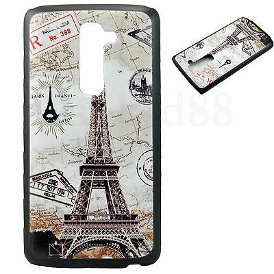 Hard Tough Mobile Phone Protector Back Case Accessories Cover For LG G2 D802