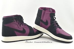 official photos 3c63b dd493 Details about Women's Air Jordan 1 Rebel XX - SIZE 6 - AR5599-600 Bordeaux  Black Purple OG QS