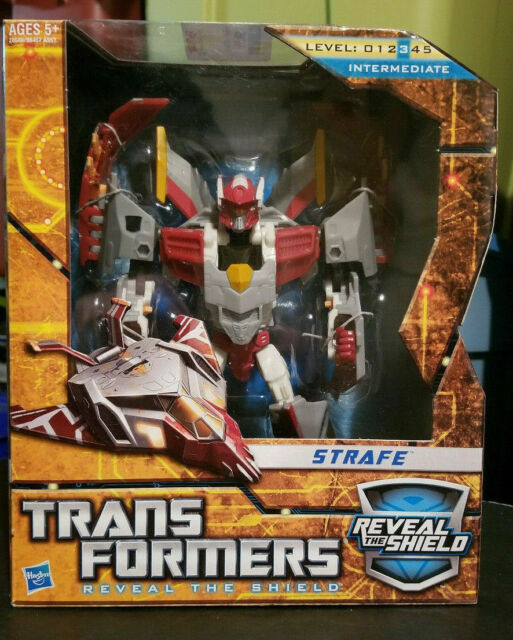 Transformers Reveal The Shield Strafe Voyager Class 2010 RTS Figure MIB