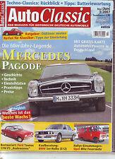 Auto Classic 3/07 Mercedes Pagode/BMW E12 5er/Ford Badewanne 17M P3/Blitz/2007