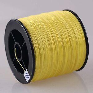 Yellow-100M-300-500M-1000M-100-PE-Dyneema-Braided-Fishing-Line-Pro-Line