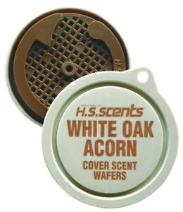 NEW-Hunter-039-s-Specialties-White-Oak-Acorn-Cover-Scent-Wafers-3-Pack-01010