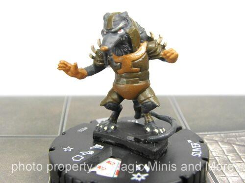 Teenage Mutant Ninja Turtles ~ SLIVER #024 HeroClix Set 3 rare Shredder/'s TMNT