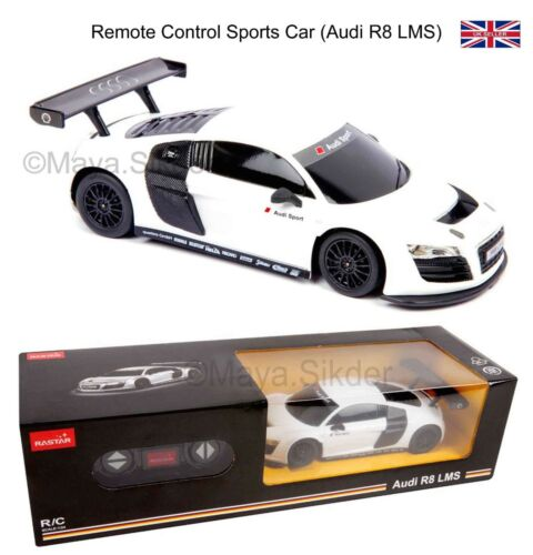 RC Radio Remote Controlled Toy Sports Car Audi R8 LMS Scale 1/24 Car Gift