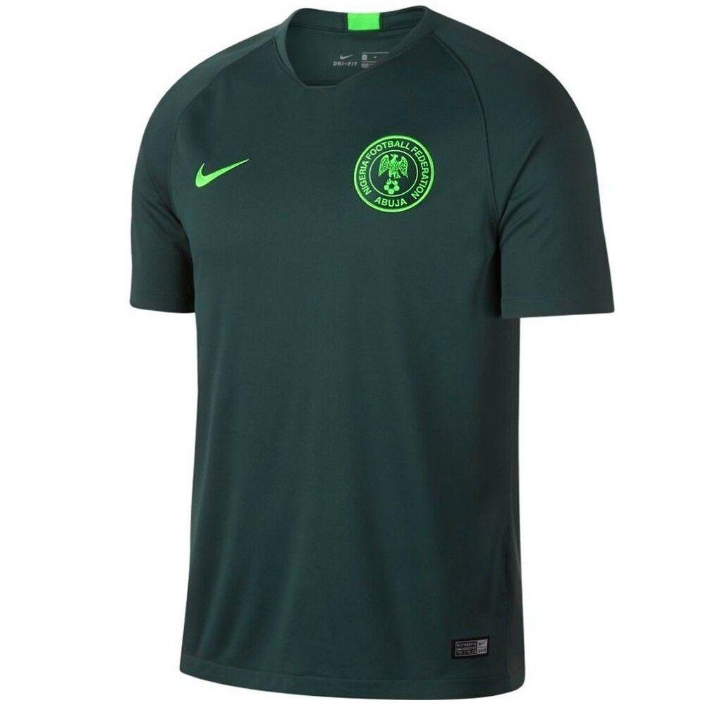Maglia da calcio Nazionale nigeriana Nigeria Away verde Mondiali 2018 19 Nike