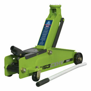 Sealey 1153CXHV High Visibility 3tonne Long Chassis Trolley Jack
