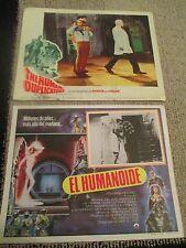 The Humanoid & The Human Duplicators Lobby Cards-Richard Kiel