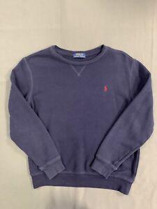 Polo-Ralph-Lauren-Kids-Crew-Neck-Sweat-Shirts-Boys-Sixe-XL-Navy-Blue-Long-Sleeve