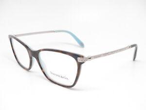 0871874057375 Tiffany   Co TF 2158-B 8134 Havana   Blue Eyeglasses TF 2158B Rx ...