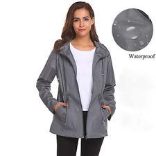 fe19cf6136850 item 8 Womens Outside Waterproof Coat Tunic Raincoat Hooded Overcoat Rain  Jacket L -Womens Outside Waterproof Coat Tunic Raincoat Hooded Overcoat Rain  ...