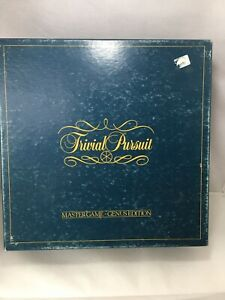 Trivial-Pursuit-Master-Game-Genius-Edition-1983-vintage-Board-Game-Quiz-Family