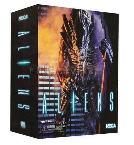 Aliens xenomorph krieger actionfigur 1990 alien - video - spiel aussehen neca box