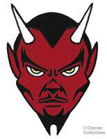 Red Devil Embroidered Patch Iron-on Satanic Evil Lucifer Satan 666 Applique
