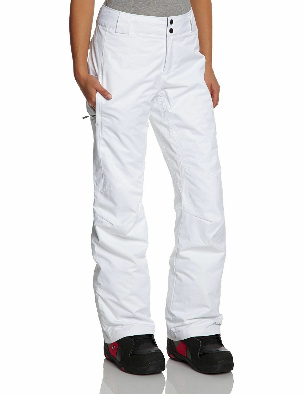 Columbia Women's Bugaboo Pant, White, L Regular
