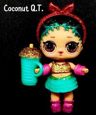 Lol Surprise Coconut Qt Cutie Glam Glitter Series2 Doll Ball Authentic Complete Ebay