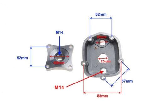 Aprilia RS4 RX SX 50 2006-2014 TMP Culasse de moteur D50B0 50 CC Eau