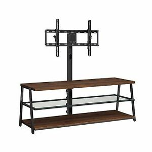 Mainstays 3 In 1 Tv Stand Up To 70 Shelf Wall Mount Entertainment
