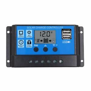 12V-24V-LCD-Auto-Work-Solar-Charge-Controller-PWM-Dual-USB-Output-Charger