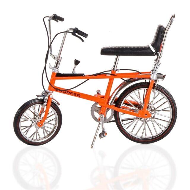 DIE CAST RALEIGH CHOPPER MK1 MODEL 1:12 scale BICYCLE IN ORANGE TW41600
