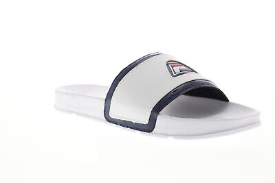 Fila Drifter 96 1SM00007 125 Mens White Slip On Slides Sandals Shoes 13 | eBay