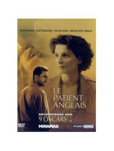 """DVD """"Le Patient anglais""""  NEUF SOUS BLISTER"""