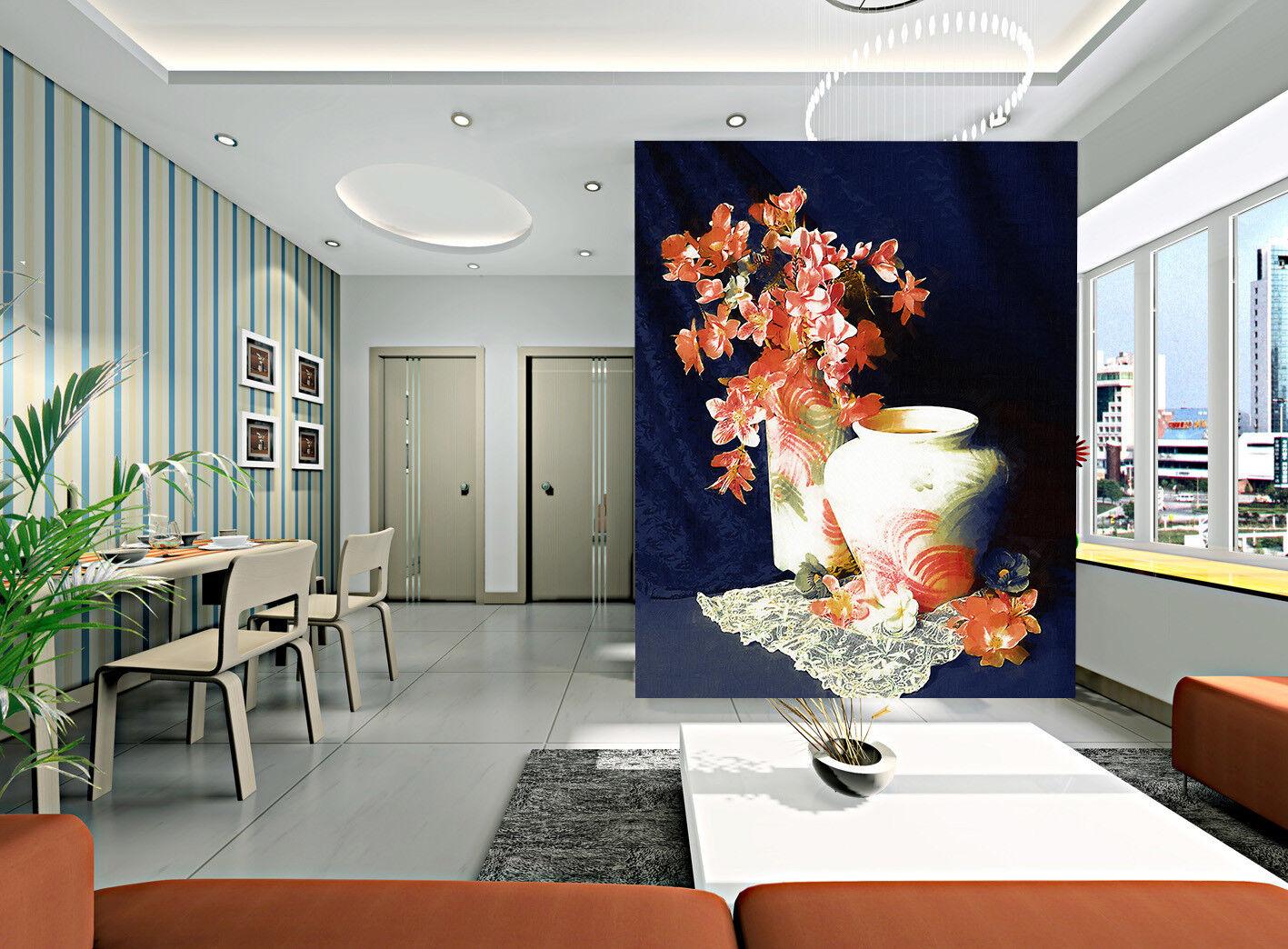 3D Keramik Rosa Blaumen 74 Tapete Wandgemälde Wandgemälde Wandgemälde Tapete Tapeten Bild Familie DE | Überlegen  | Angenehmes Gefühl  | Geeignet für Farbe  1c4a75