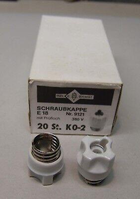 PROTEC.class Diazed-Schraubkappe Keramik PSK KII 25A E27