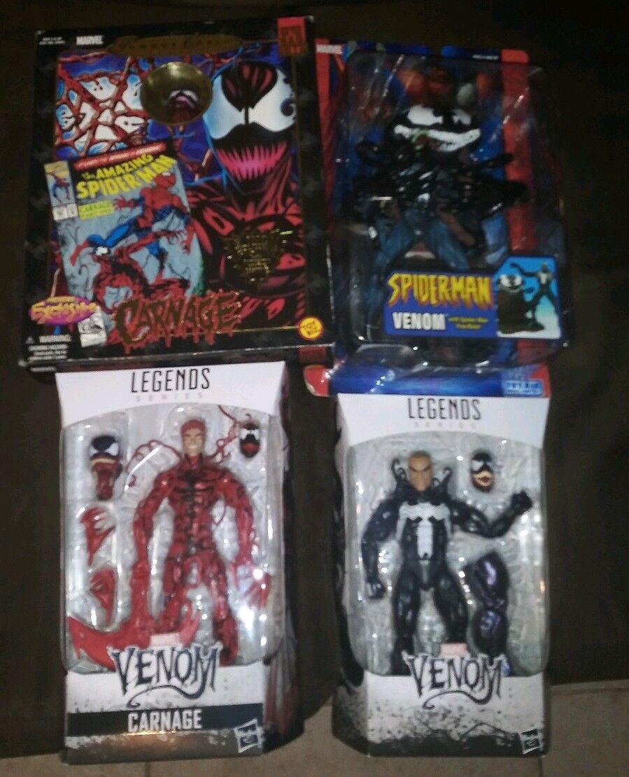 Marvel hasbro und toybiz gift und gemetzel figur viel gift welle marvel - legenden