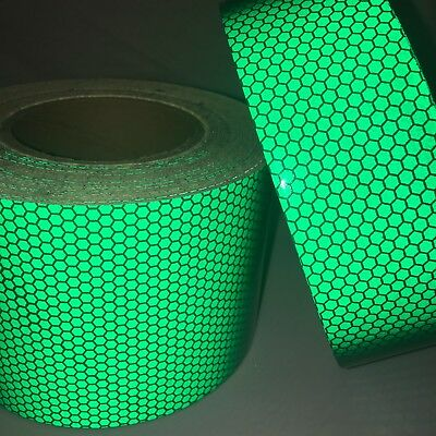 5 Pieces of Red High Intensity Reflective Tape Self-Adhesive 25mm×100mm×5