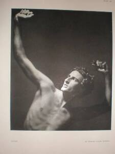 David-art-photograph-male-nude-Howard-Coster-1934